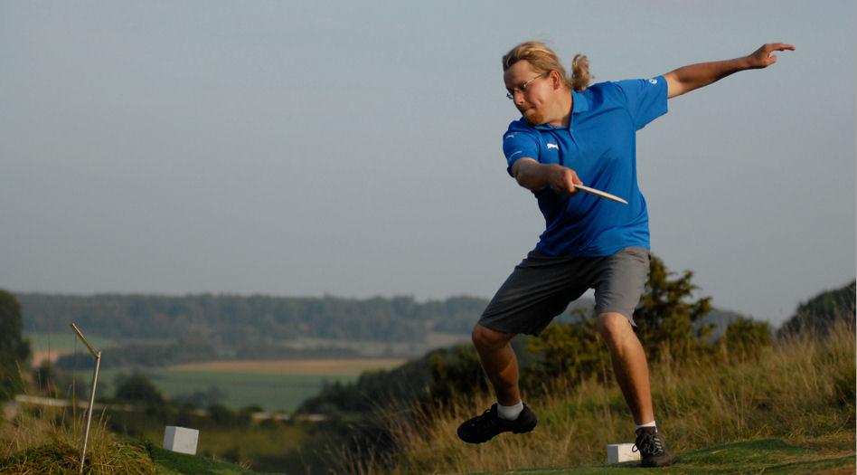 Sami EM-kisoissa (kuva: frisbee.net)